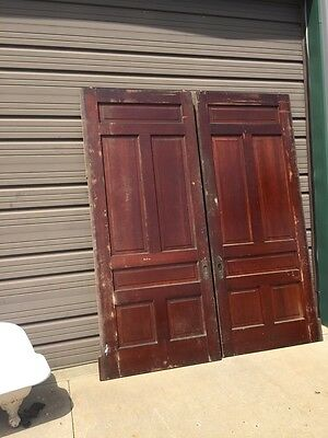 D 232 One Set 84 Inch 101 Hi Pocket Door's