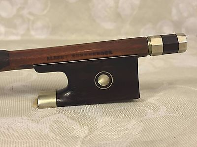 Vintage Albert Nurnberger Violin Bow Pernambuco Wood Germany