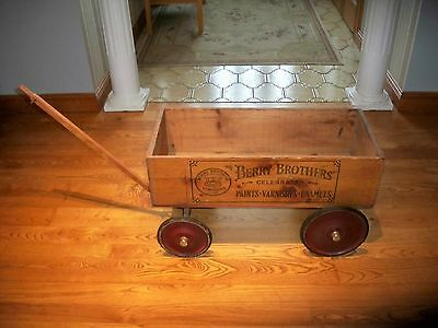 Berry Brothers wood wagon Detroit michigan