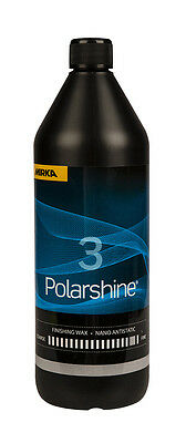 Mirka Polarshine Nano Antistatic Wax 3 Ultrafeine Politur 1000 ml  7992660311