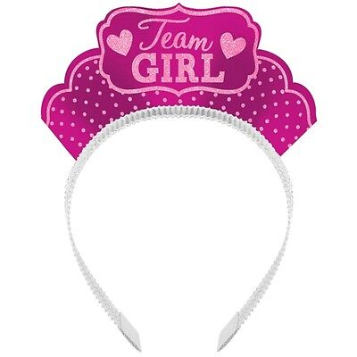 12 Team Girl/Team Boy  Tiaras - Great for Gender Reveal or Baby Shower Party