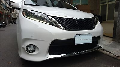 TOYOTA SIENNA 2011-2017 front lower grill cover chrome garnish trim-SE model
