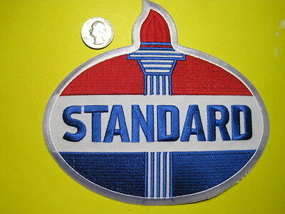 Standard Oil Uniform Cloth Patch Back Size Look And Buy!*