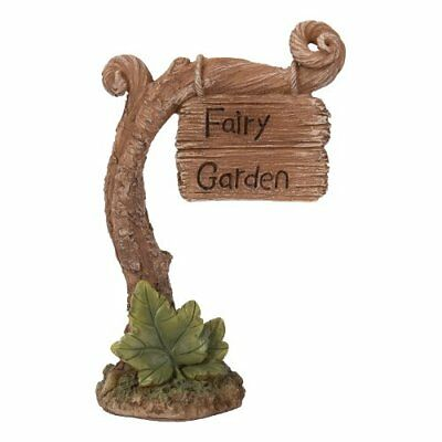 Large Fairy Miniature Garden Sign by Vivid Arts