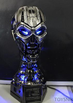 Statue The TERMINATOR T3 head LED lights 1:1 scale REAL SIZE 38cm action figure
