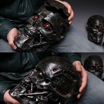 Statue The TERMINATOR T 600 T600 head SKULL LED 1:1 REAL SIZE 30cm action figure