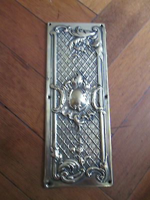 Decorative Old Solid Brass Finger Door Plate