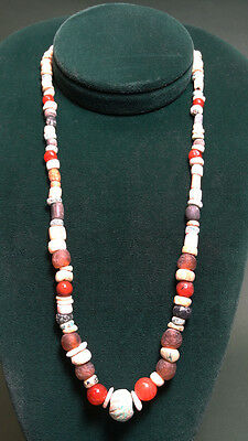 Ancient Bead Necklace Variety 1000 Bc-200 Ad
