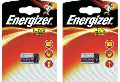 Energizer CR2 Lithium Photo Batteries - Pack of 2