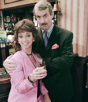 John Challis and Sue Holderness UNSIGNED photo - 2961 - Only Fools and Horses