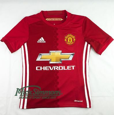 NEW Manchester United 2016/17 Kid's Home Jersey by adidas