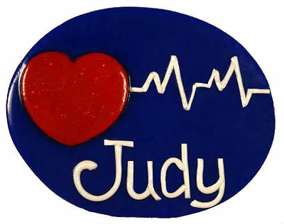 Heart Beat A Name Badge - with your name