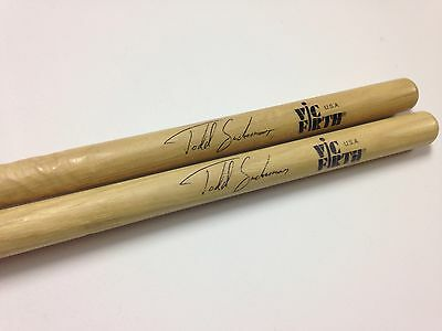 Todd Sucherman Signature Series Vic Firth Drumsticks from Styx World Tour