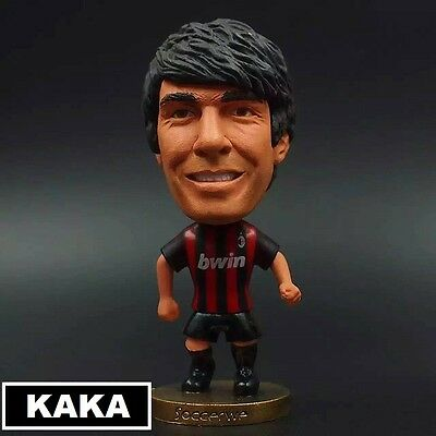 Statuina doll RICARDO KAKA 22 AC MILAN football action figure 7cm handcolored