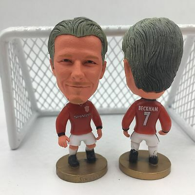 Statuina doll DAVID BECKHAM 7 MANCHESTER UNITED doll football action figure