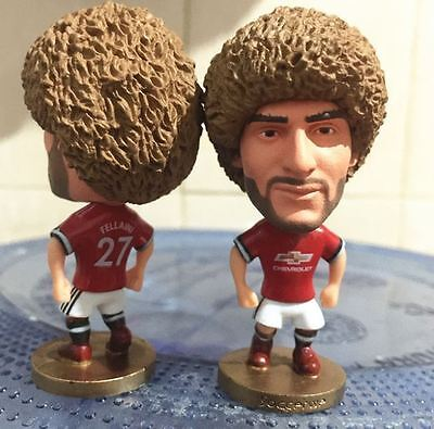 Statuina doll MAROUANE FELLAINI 31 MANCHESTER UNITED football action figure toys
