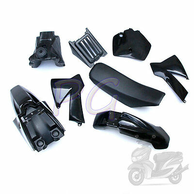 Oem New Ktm Sx 50Cc 50Sx Ktm50 Plastics Fender Cover Tank Seat Kit Black  Jr Sr