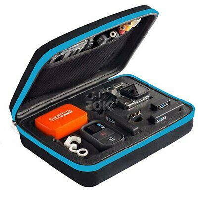Waterproof Medium Travel Storage Carry Hard Bag Case GoPro HERO 5 4 3+ 3 2 +Gift