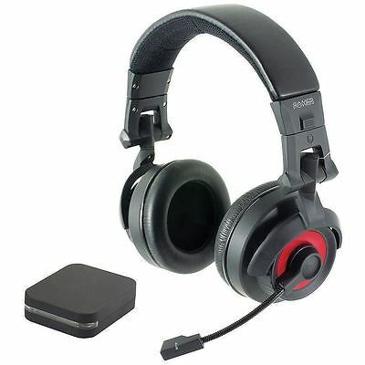 Pro-Command Wireless Headset for Gaming (Xbox/360/PS3/PC DVD) By Logic3