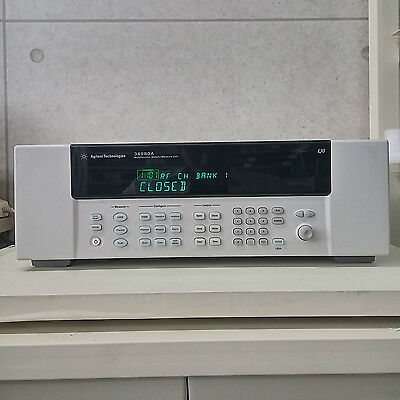 Used Agilent 34980A (w/34942Ax1ea) - Multifunction switch/Measure Mainframe
