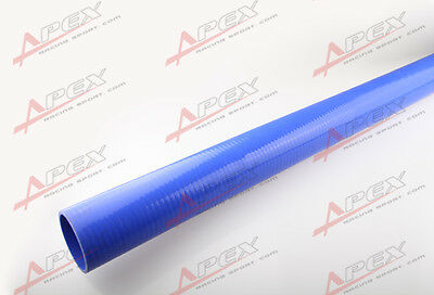 "22MM (7/8"")  Straight Silicone Coolant Hose 1M Meter Length Intercooler Blue"