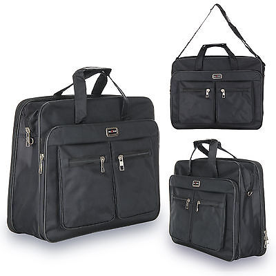 """Acquisition Business Laptop Case Bag Strap & Zip up to 17"""" Notebook Computer"""