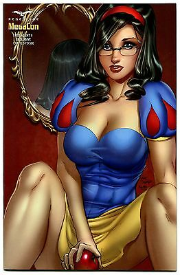 Grimm Fairy Tales Red Agent #5 Megacon Exclusive Variant Cover E Snow White Nice