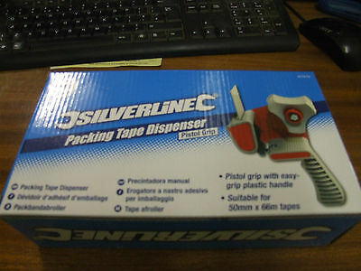 3 of SILVERLINE PISTOL GRIP PACKING TAPE DISPENSER 427679
