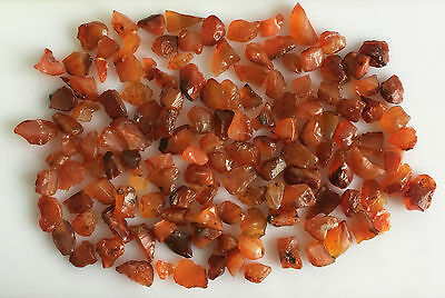 500 Ct Scoop Natural Carnelian Rough Loose Gemstones Lot Raw Mineral Wholesale