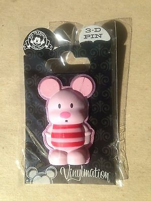 Disney Pin 83703 NEW Disney Vinylmation 3D Pin Piglet