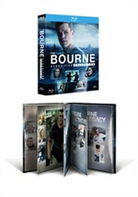 The Bourne Classified Collection (4 Blu-Ray Disc + Bonus Disc - DigiBook)