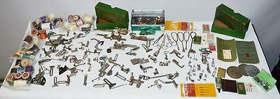 Large Lot Singer Sewing Machine Etc Parts And Spares  [Pl-2347]