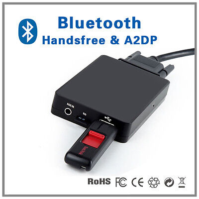 Bluetooth Handsfree A2DP MP3 CD Changer adapter for Alfa Romeo 147 156