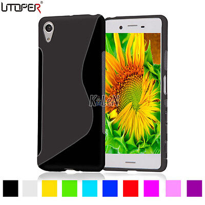 S-Line Gel TPU Silicone Case Skin Cover For Sony Xperia X XA X Performance E5 XZ