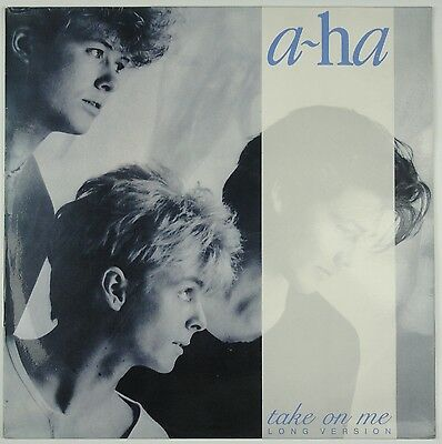 A-HA - TAKE ON ME Long Version - Spain 1984 VERY RARE LIMITED EDIT 150 ONLY EX+!