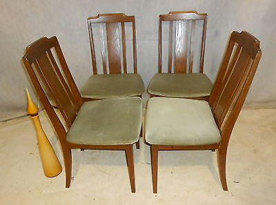VINTAGE G PLAN SET OF 4 CHAIRS 60s DINING CHAIRS RETRO KITCHEN CHAIRS E. GOMME