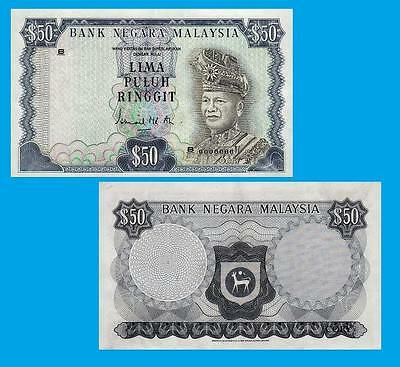 Malaysia,50 Ringgit 1976.  UNC - Reproductions