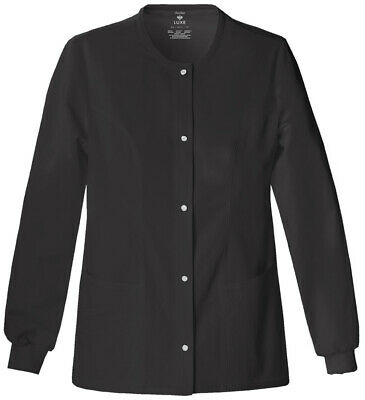 Cherokee Luxe Snap Front Warm-up Jacket 1330 - Ships FREE!