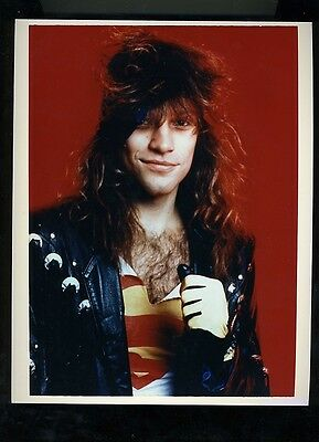 Jon Bon Jovi original publicity press photo #3