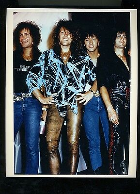 Bon Jovi original publicity press photo #2