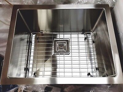 "Customized 23"" Small Radius Stainless Steel Laundry/Kitchen Sink-2318AR-11.5"