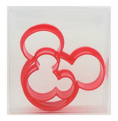 Mickey Mouse Ears Set of 2 Cookie Cutter, Biscuit, Pastry, Fondant Cutter