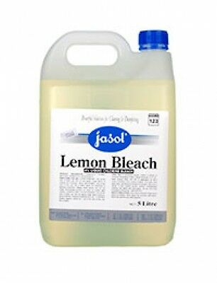 5 litre - Jasol Lemon Bleach - Household Cleaning Products
