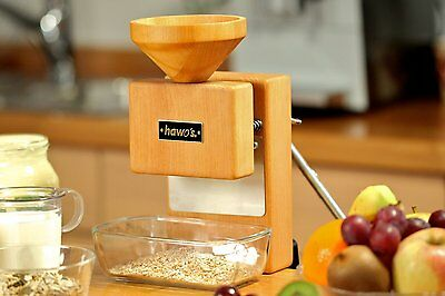 Grain Mill hawos Molere, Hand Grinder with Milling Stones