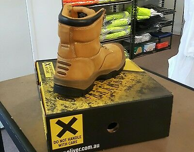 Oliver At 55-232 Lace Up Safety Toe Work Boot