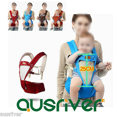 Removable Newborn Infant Baby Carrier Hip Seat Chair Shoulder Straps 4 Seasons