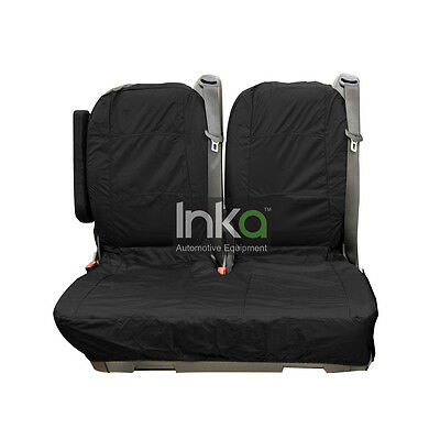 Mercedes Vito Dualiner 2nd Row Double Seat Inka Tailored Waterproof Cover Black