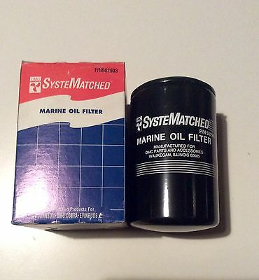 NEW OMC Johnson Evinrude Oil Filter Sterndrive Cobra Mercruiser GM 502903 41815