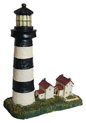 Aquarium Decoration Lighthouse New Polyresin Tropical Marine Fish Tank AQ28142