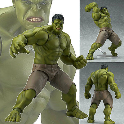 """Figma 271 The Avengers Hulk Marvel Max Factory 7"""" action figure"""